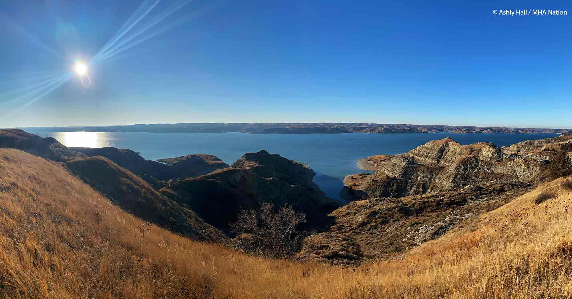 Photo courtesy of Ashley Hall, location MHA Nation, North Dakota